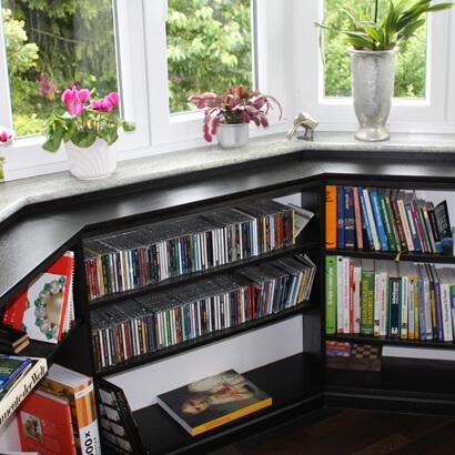 Bücherwände bücherwände schreinerei plaschke