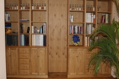 Bücherregal aus Eiche