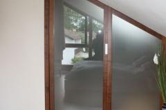 Dachausbau mit Glastüren