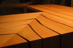 Platzsparende Holzmöbel