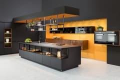 Küchenplaner aus München mit Möbel  -  Küchen  -Tinos-nero-ingo-Phoenix rost-patina-schwarz