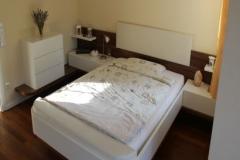 Ablagesystem mit Bett